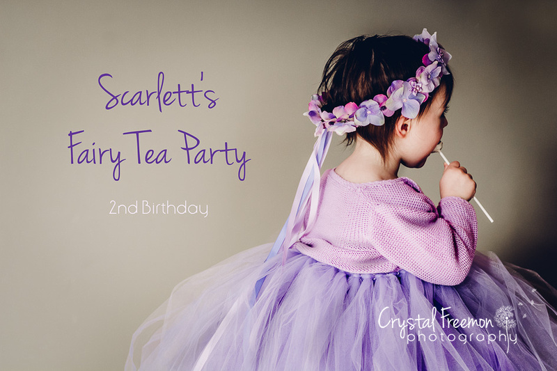 Fairy Tea Party 2nd Birthday