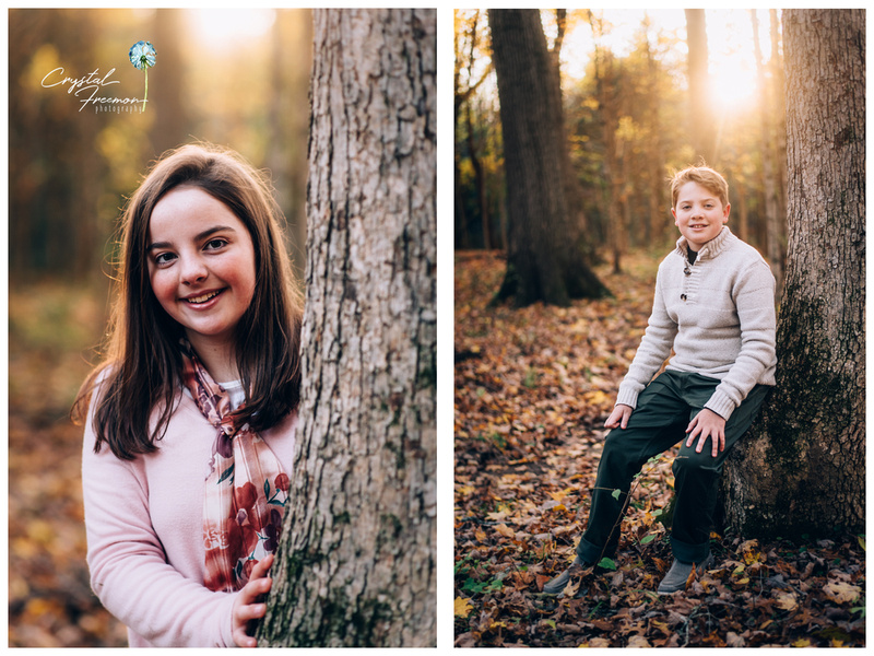 Fall Outdoor Family Photos in Spring Hill TN