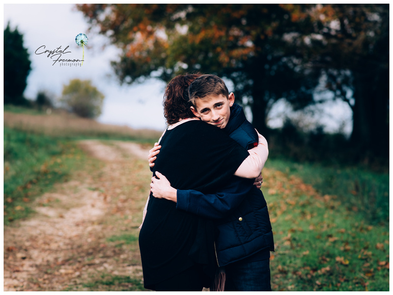 Extended outdoor family portrait session in Spring Hill TN