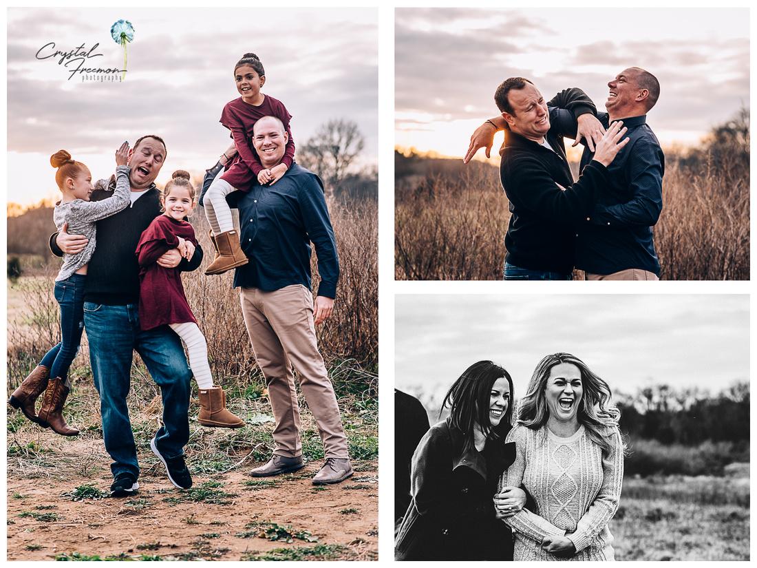 Harlinsdale Farms Double Family Portrait Session