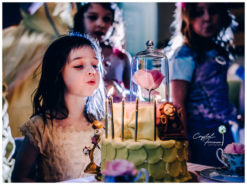 Scarlett's Beauty & the Beast Birthday Party in Spring Hill TN