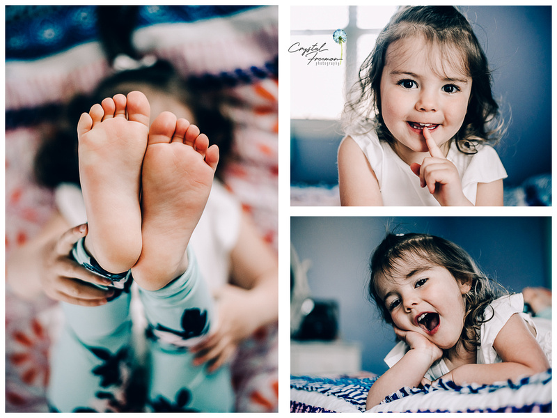 Baby Azure's Newborn Portrait Session in Spring Hill, TN