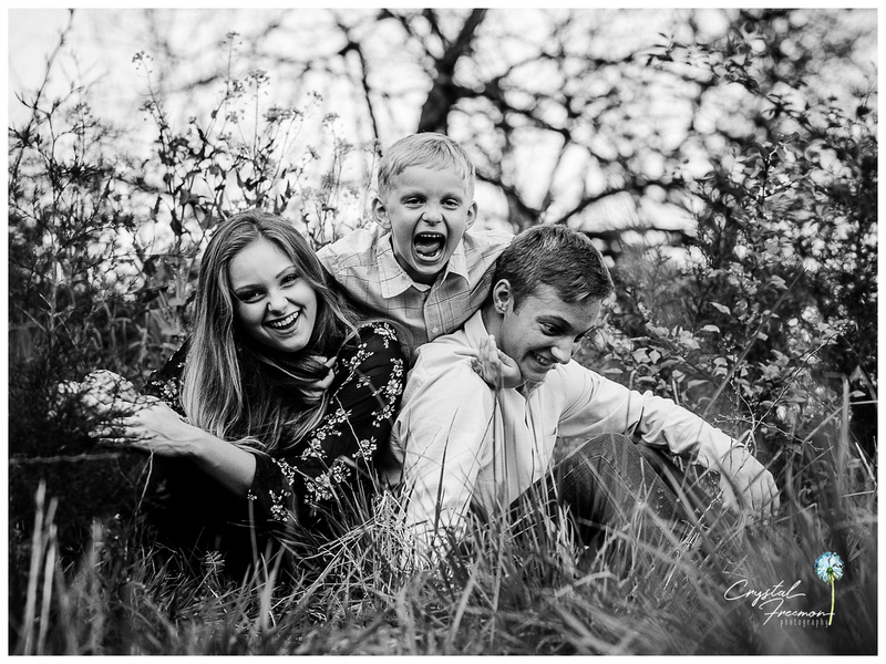 Combination Senior and Family Portrait Session in Thompson Station TN