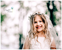 Hannah's Communion Pics