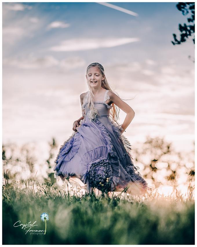 Haley's Magic Dress Portrait Session