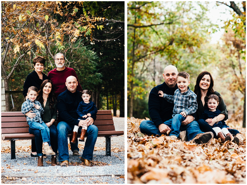 Thompson Station Park Fall Portrait Session