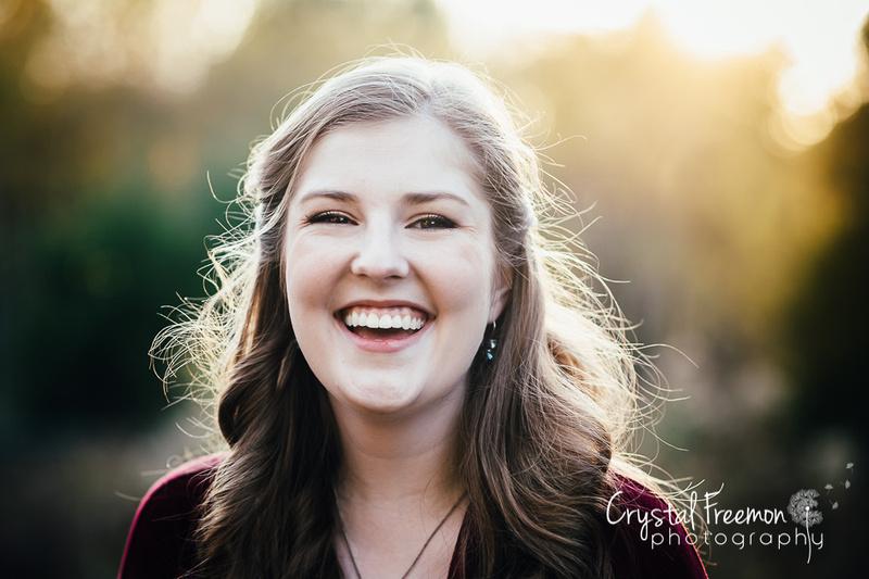 Beautiful Fall Photos of Senior Girl in Nashville, TN