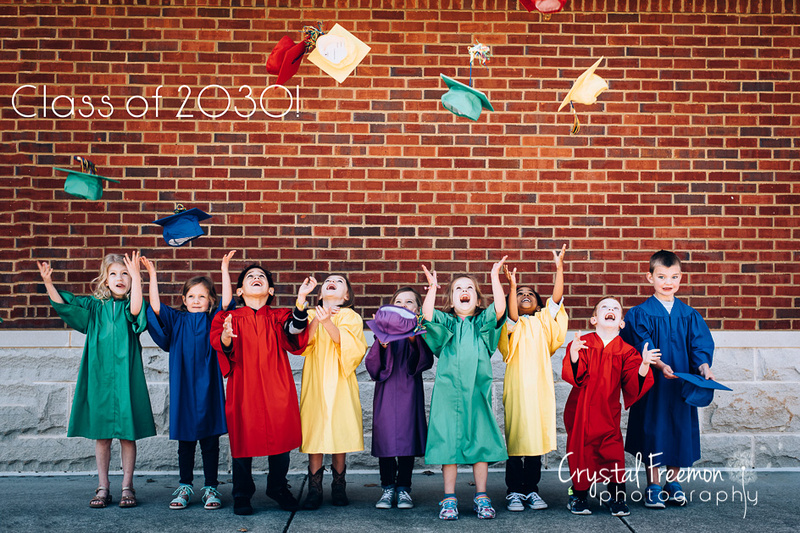 Preschool Graduation Photos for Spring Meadow's Academy