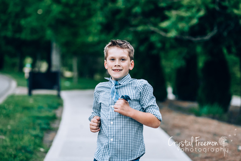 Neighborhood Family Photo Session in Franklin, TN