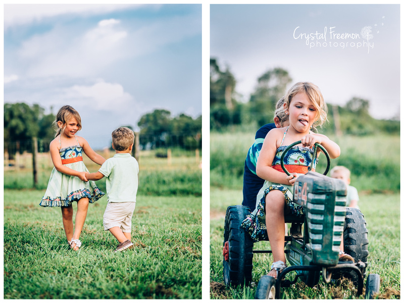 Spring Hill TN Outdoor Family Portraits