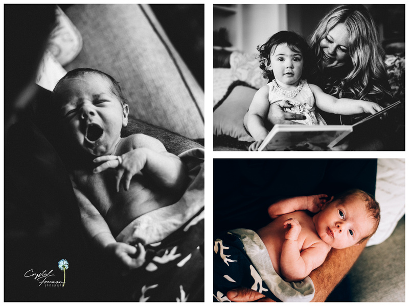 Lifestyle Newborn Photographer in Franklin TN