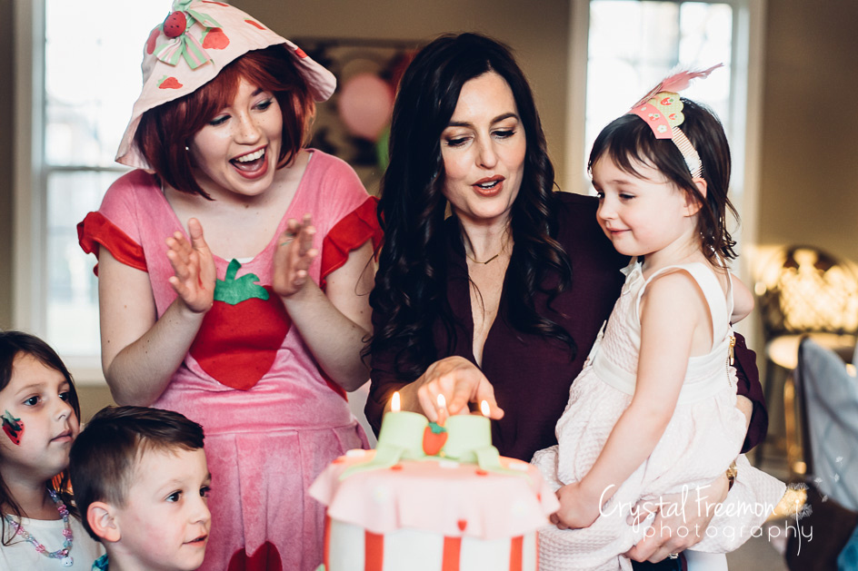 Spring Hill, TN Family & Event Photographer - Strawberry Shortcake Party