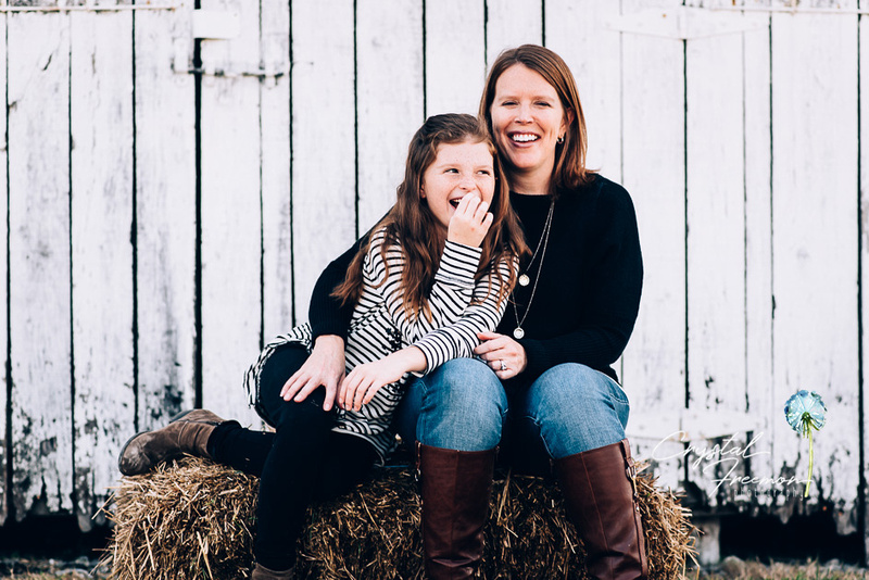 Harlinsdale Farms Portrait Session with 9 year old twins