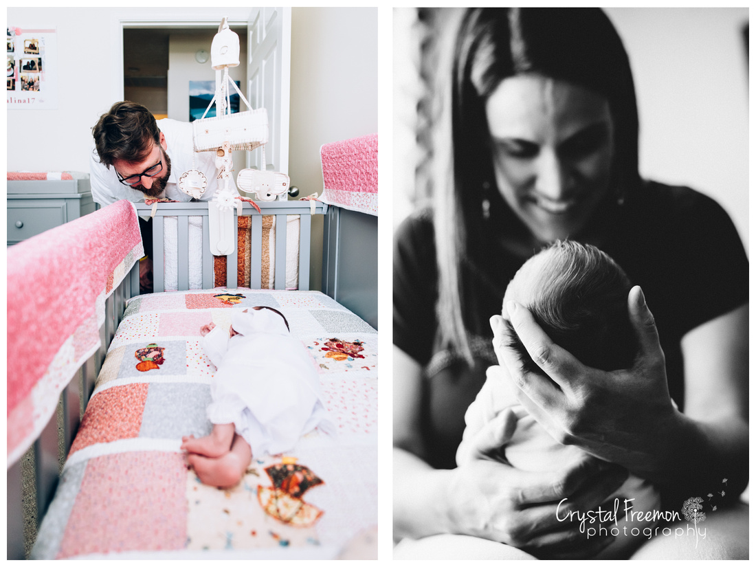 Spring Hill, TN Lifestyle Newborn Photographer