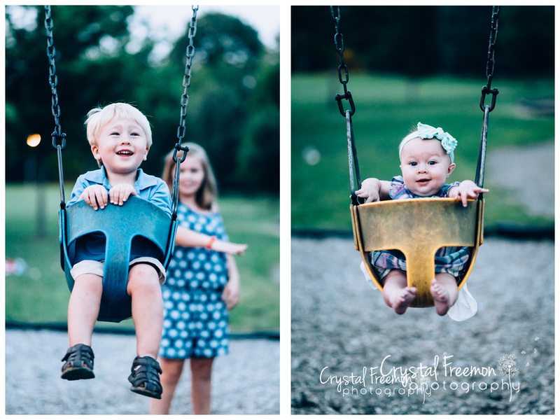 Pinkerton Park Family Portrait Session In Franklin, TN