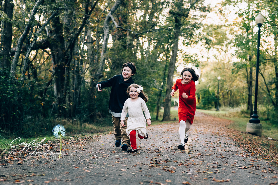 Fall Family Portraits in Spring Hill TN