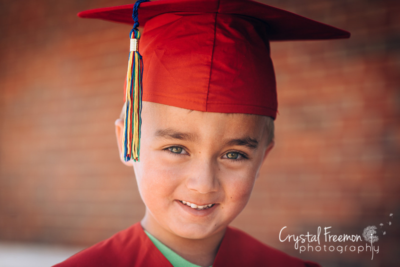 Preschool Graduation Photos for Spring Meadow's Academy