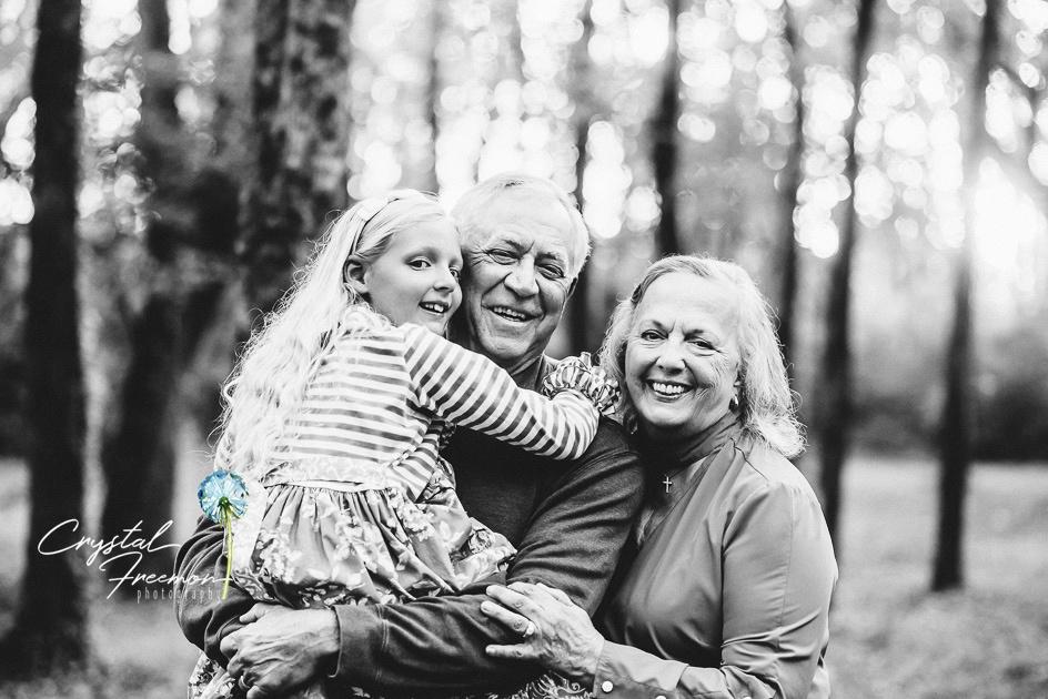 Family Portrait Photos in Aspen Grove Park in Franklin, TN