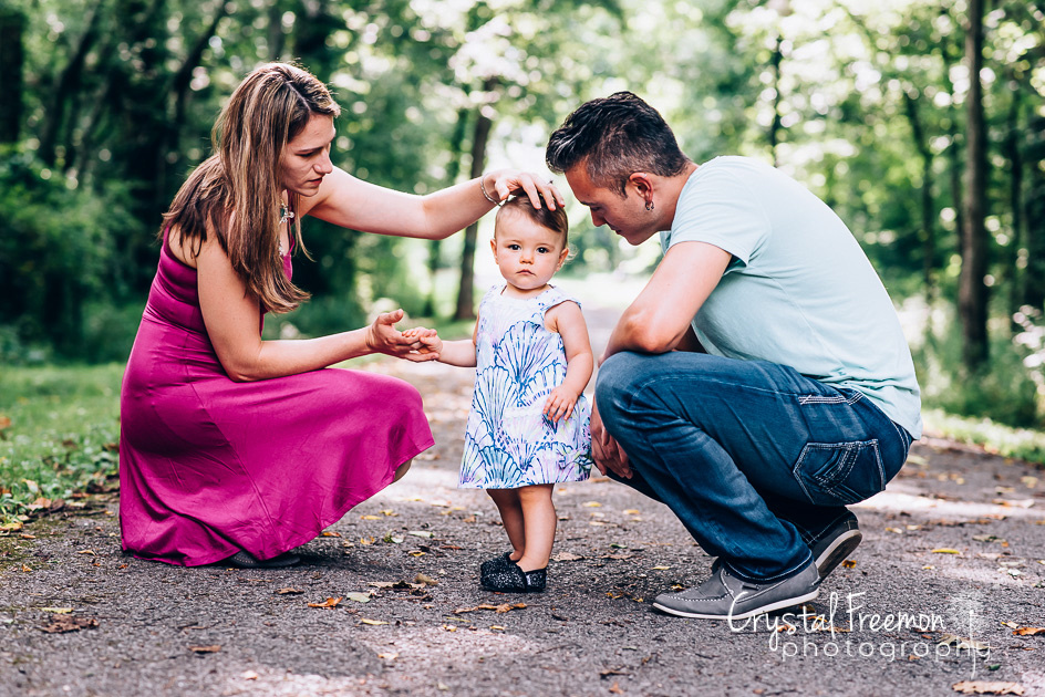 One Year Old Baby Portrait Session