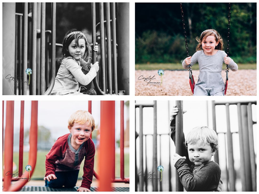 Fun outdoor family photo session in Spring Hill