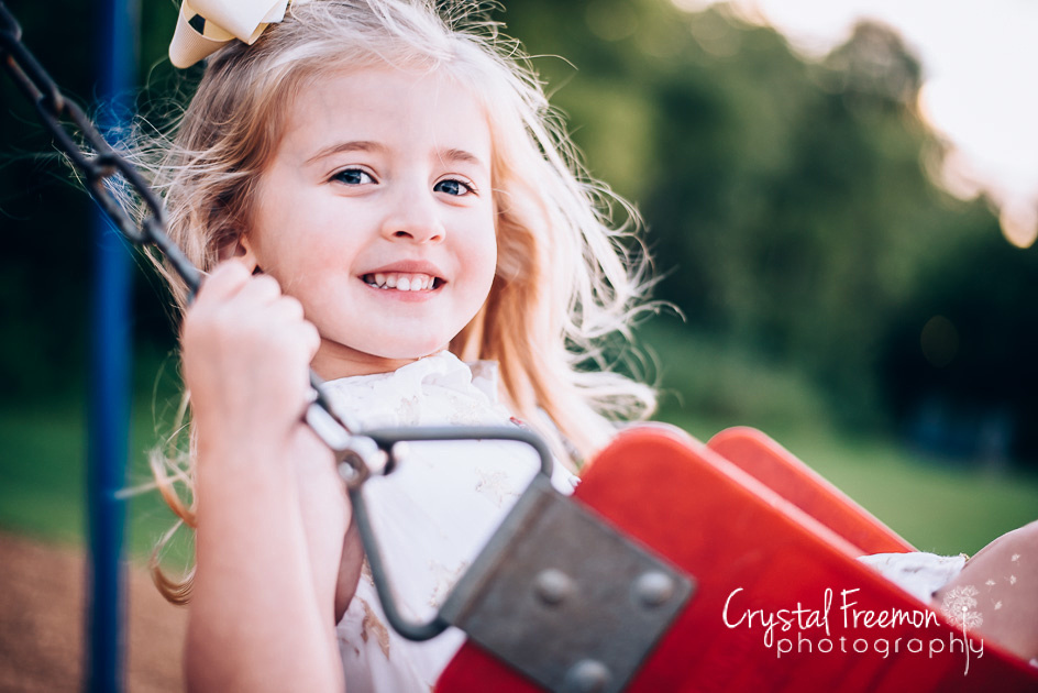 Spring Hill TN Outdoor Family Photography with twin girls