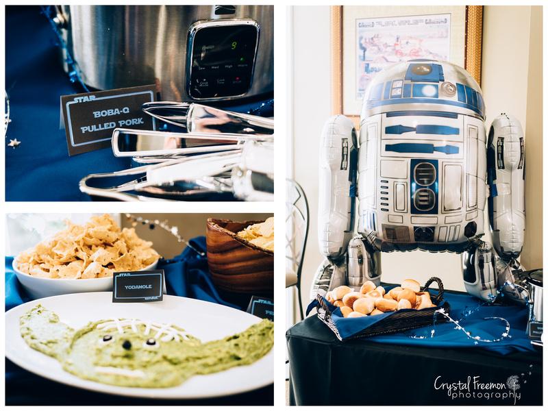 Spring Hill TN Star Wars Birthday Party Photographer