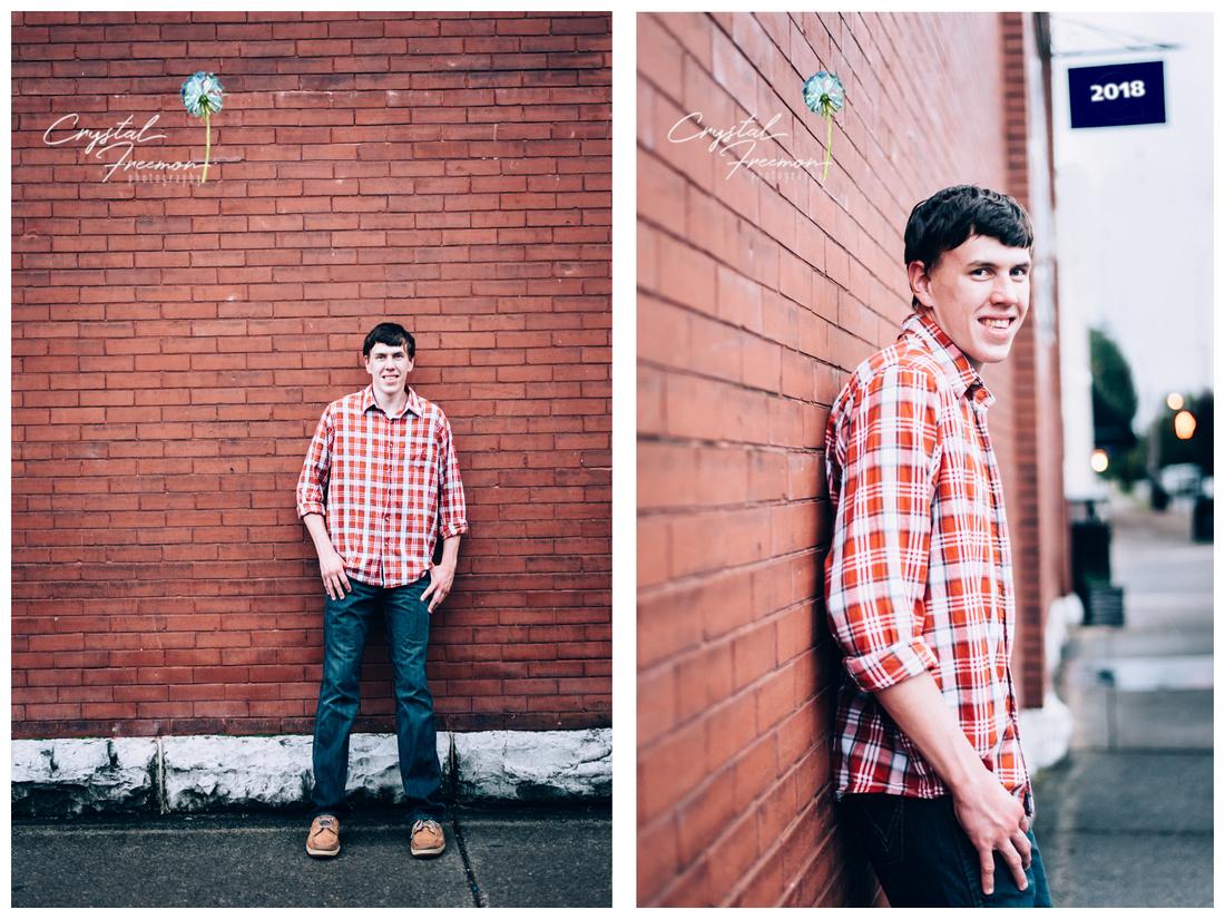 Senior Portrait Session in Downtown Franklin TN