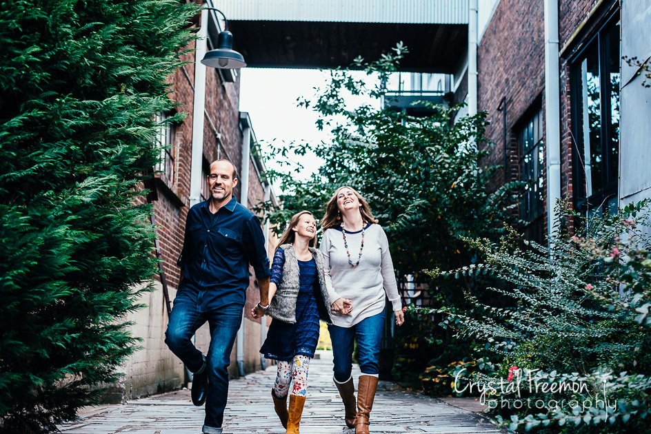 Factory at Franklin Family Portrait Session