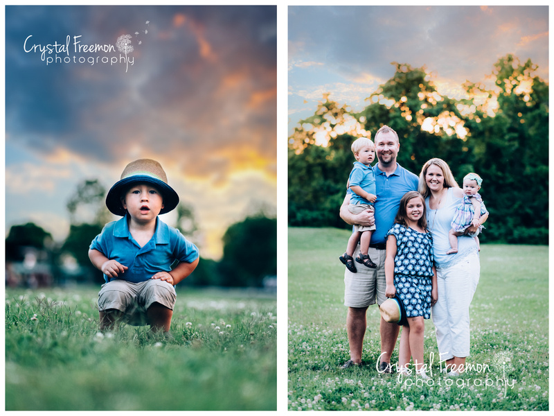 Pinkerton Park Family Portrait Session In Franklin, TN