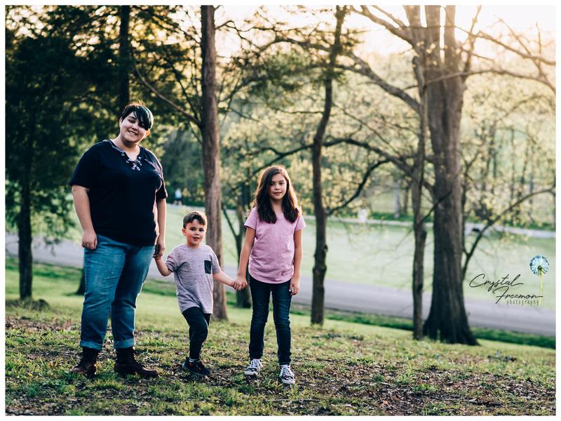 Lifestyle Family Portrait Session at Thompson Station Park